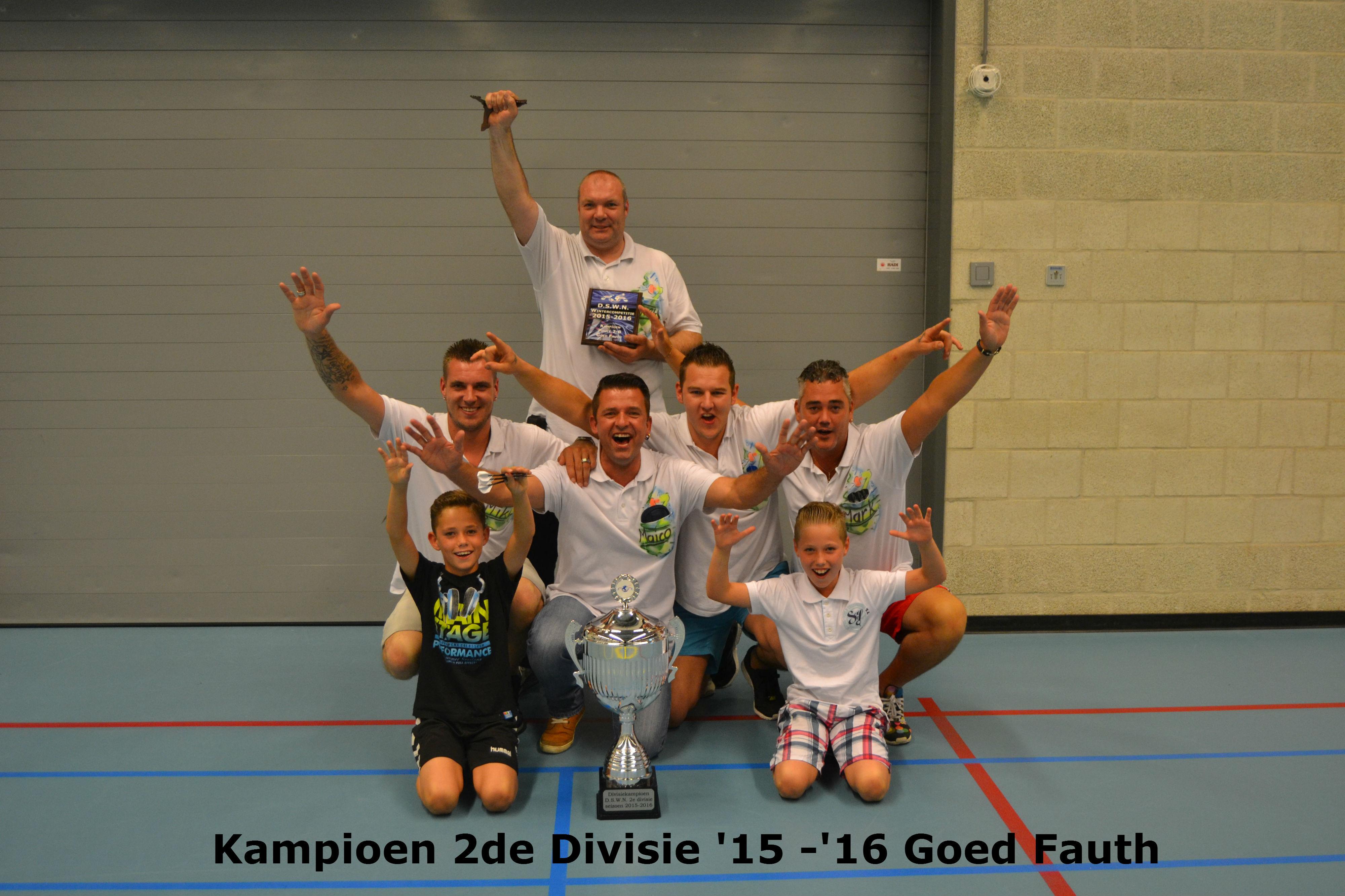 Kampioen 2e divisie Goed Fauth